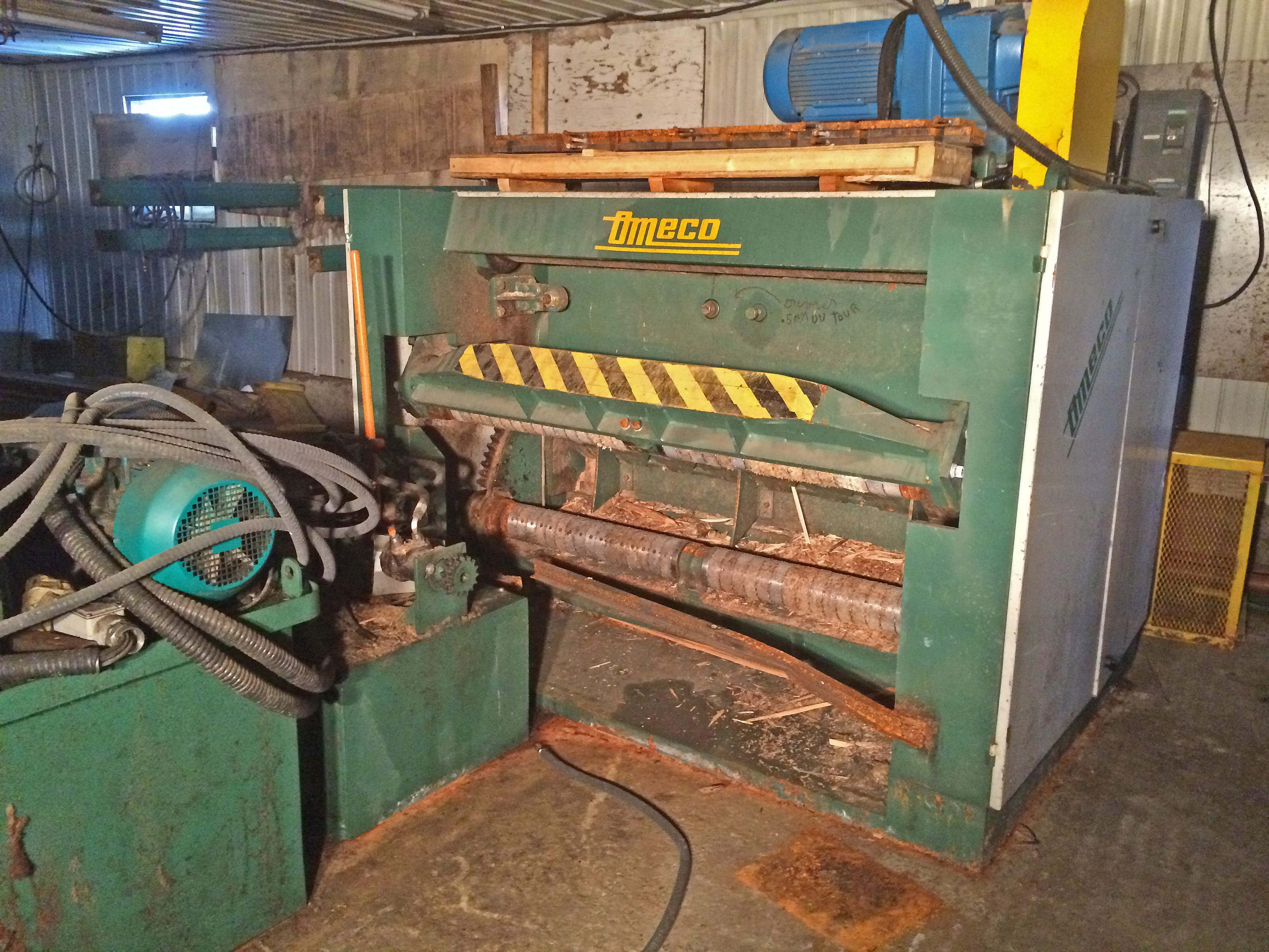 Omeco 4 ft. Spindleless Lathe Image