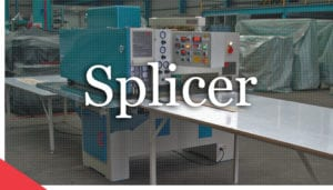 Veneer splicing machine from Veneer Services