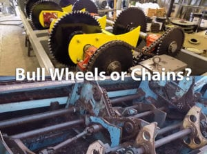 Read more about the article Bull Wheels vs. Chains on Butt Flare Reducers