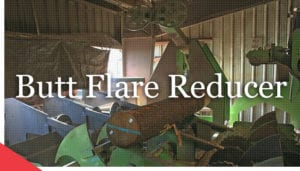 log butt flare reducer for sawmills from veneer services® - industrial automation engineering