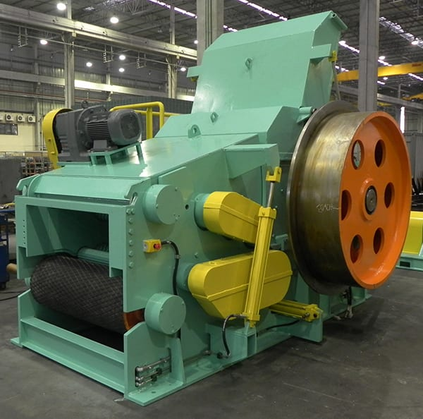 industrial wood chipper fhi from veneer services in factory 2