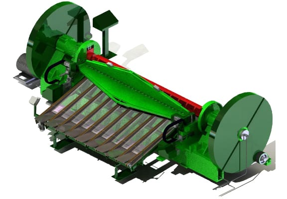3d engineering services half round slicer. veneer technologies.