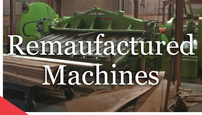 remanufactured machines from Veneer Services
