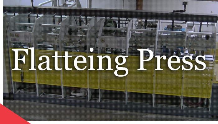 Remanufactured veneer flattening press from Veneer Services
