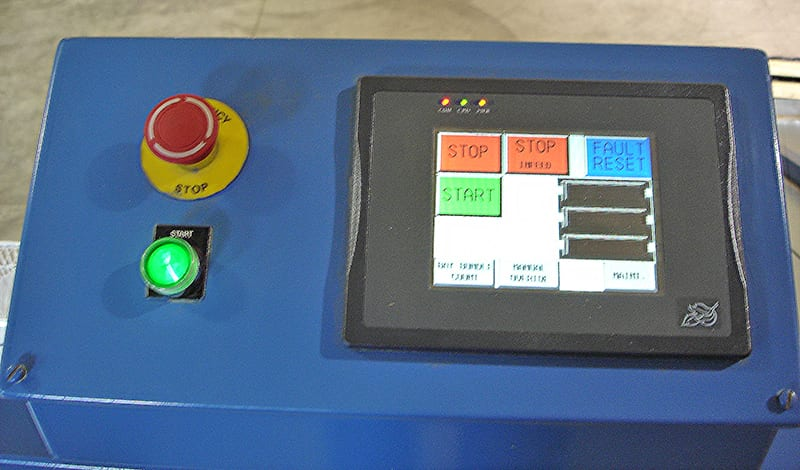 automation technology controls - veneer sorting line controls