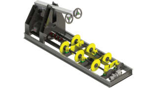 Butt flare reducer for industrial automation in sawmills and lumber mills - quality sawmill equipment