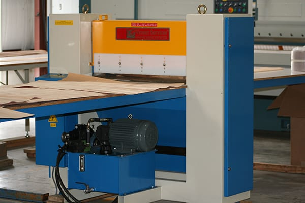 Veneer Bundle End Clipper - wood veneer cutting machinery for furniture, architectural plywood