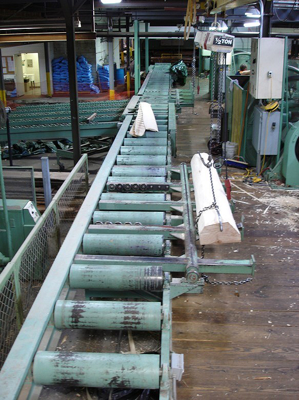 Industrial woodworking machinery for plywood flooring manufacturers, lumber mills, cooperages, edge banding mills, marine plywood, and hardwood plywood